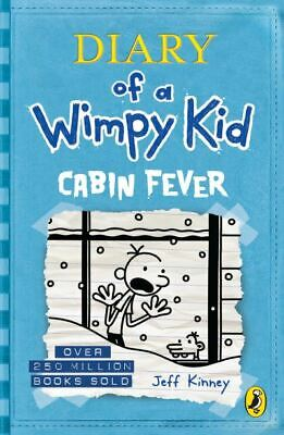 Diary of a wimpy kid: Cabin fever by Jeff Kinney (Paperback) Fast and FREE P & P