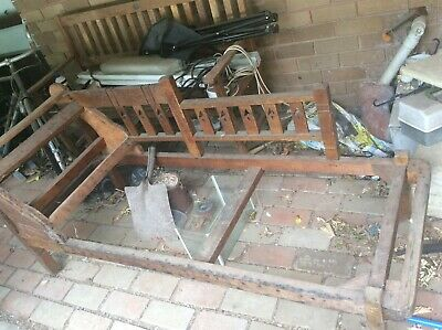 antique day bed frame used condition great for restoration