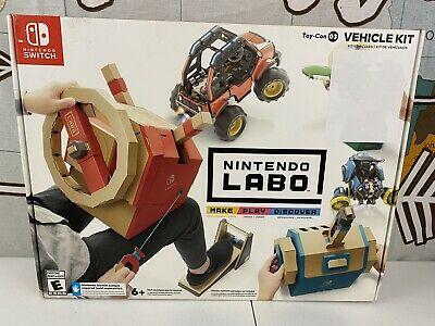 Labo Toy-Con: Vehicle Kit - Nintendo Switch-New Damaged Box (see details)