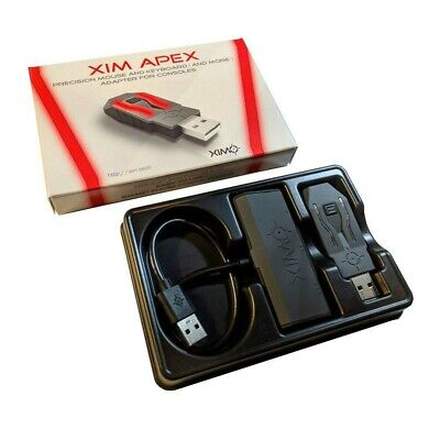 XIM APEX Precision Mouse & Keyboard Adapter for Xbox One & 360, PS3 & PS4