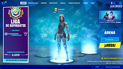 [LVL 736] Account Fornite w/ Minty Pickaxe, Wonder Skin,  Psychopath Pack....