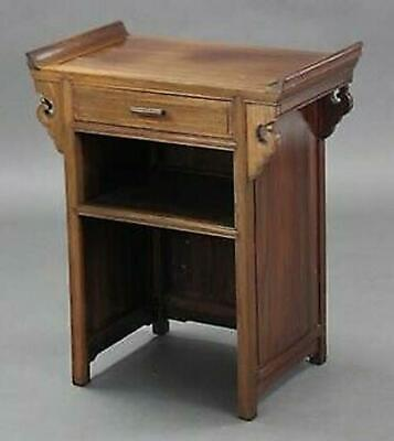 Stunning Antique Vintage Chinese Hardwood Side Cabinet Hall Table Cupboard etc