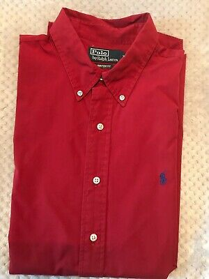 Polo by Ralph Lauren Mens Shirt XL - Excellent Condition