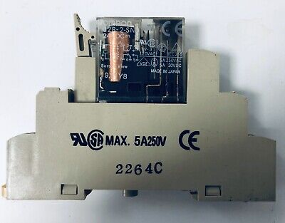 OMRON G2R-2-SND 24VDC 5A Relay.