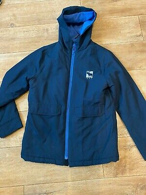 Abercrombie & Fitch Boys Coat / Jacket Age 13/14 Dark Navy And Blue