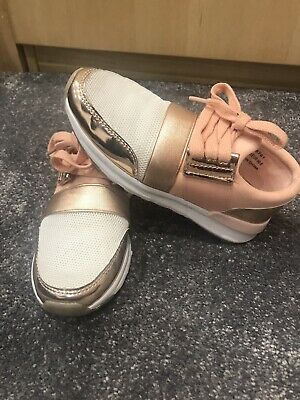 Girls RIVER ISLAND trainers Size 12 ****WORN ONCE****