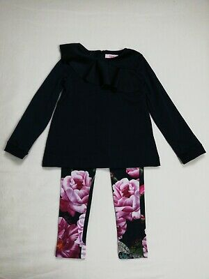Girls Ted Baker Jumper And Leggings Outfit Age 8-9