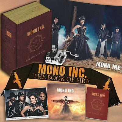 MONO INC. The Book Of Fire BOX SET Limited Edition NEW .cp