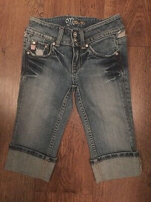 Girls Aged 8 Years Blue Denim Jeans Winter Holiday/Smart/Towie/Xmas/Boho