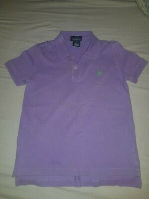 Girls Size S Ralph Lauren Lilac Polo/Top Towie/Summer/School/Party/Celeb/Play