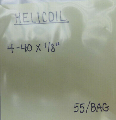 (55) Helicoil 4-40 X 1/8""