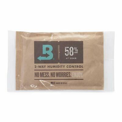 Boveda 58% RH Individually Overwrapped 2-Way Humidity Control Large 67gm- New