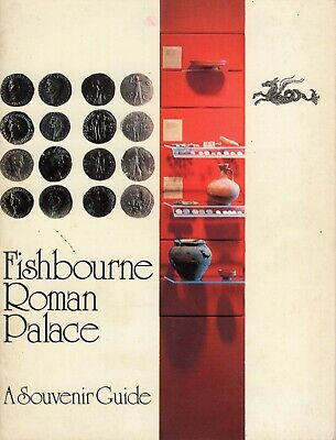 Fishbourne Roman Palace by Margaret Rule Souvenir Guide 1977