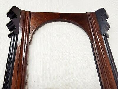 Antique Vienna regulator wall clock case door