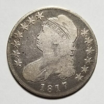 1817 50c United States Capped Bust Half Dollar