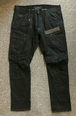 MENS G STAR GSTAR Raw Scuba Elwood Narrow Record Embro Leg