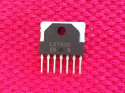SANYO VERTICAL IC LA7830 USED IN VARIOUS TV MODELS SHIPS FROM USA