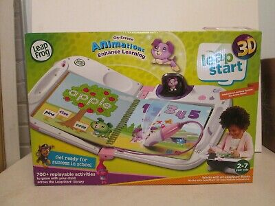 LeapFrog LeapStart 3D Interactive Learning System unused with open box & damage