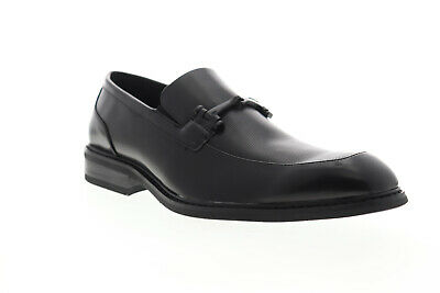 Unlisted by Kenneth Cole Piano Slip On UMF8026SY Mens Black Dress Loafers Shoes
