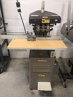 Challenge EH-3A 3-Hole Paper Drill with Auto Side Trip