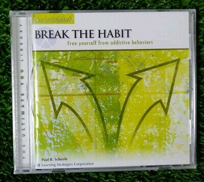 The Ultimat You Library paraliminal CD break the habit Paul R Scheele new