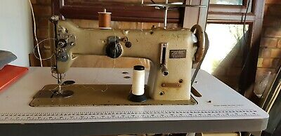 PFAFF 138-260 industrial sewing machine with table - sail, heavy duty