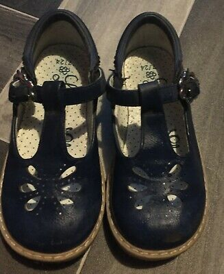 George Girls Navy Shoes Size 7