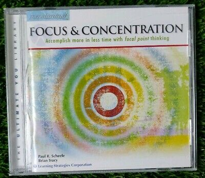 The Ultimate You Library focus & concentration paraliminal CD Paul Scheele