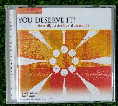 The Ultimate You Library paraliminal CD you deserve it Paul Scheele Lisa Nichols