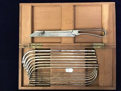 Rare Down Brothers Urethral Probes London England 1800s Surgical Medical Tool