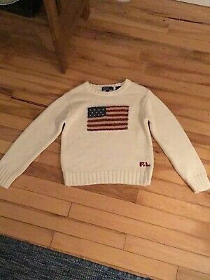 Girls Polo Sweater Size 7 —- Polo By Ralph Lauren
