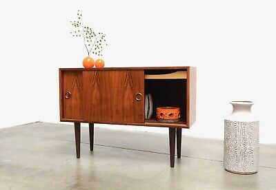Danish Modern Rosewood KAI KRISTIANSEN Compact Credenza Entry Chest Mid Century