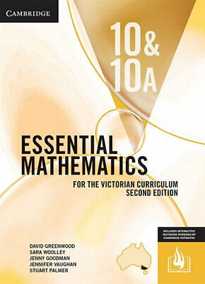 NEW Essential Mathematics for the Victorian Curriculum Year 10&10A Second Editio