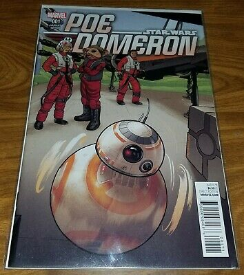 Star Wars Poe Dameron Variant Comic, issue 01, Joe Quinones BB-8 cover, Marvel