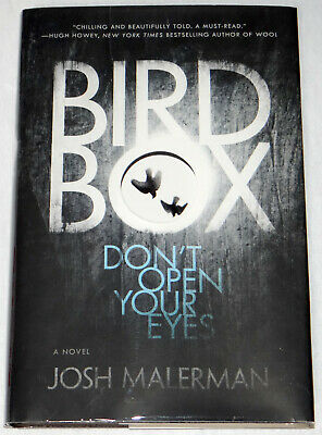 Josh Malerman SIGNED Bird Box Hardcover, 1st Edition 1st Print Very Fine