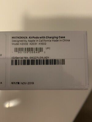 Apple AirPods 2nd Generation with Charging Case - White BRAND NEW Unwanted Gift