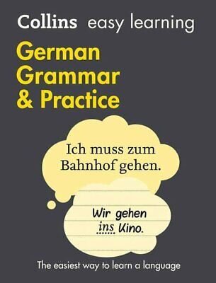 Easy Learning German Grammar and Practice by Collins Dictionaries 9780008141653