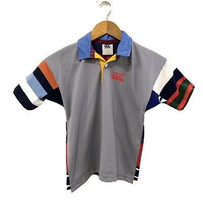 Kids Ugly Rugby Jersey Canterbury Uglies Shirt -Size 6 Multicoloured Retro Style