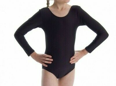 Roch Valley Long Sleeved Leotard Black Julie Various Sizes NEW