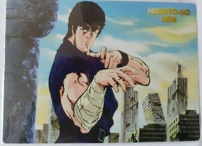 1 Cards Manga Mouse Pad Anime Hokuto No Ken Il Guerriero,Kenshiro Ready Fighter