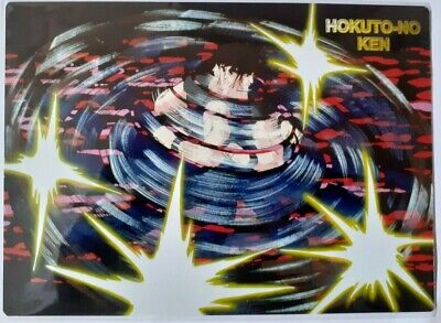 Cards Manga Mouse Pad Anime Hokuto No Ken Il Guerriero,Kenshiro Flash Kick Fight