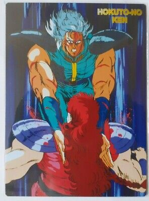Card Manga Mouse Pad Anime Hokuto No Ken Il Guerriero,Rei Fight Nanto Death Yuda