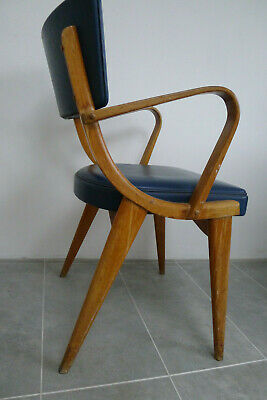 Mid century vintage retro Ben Chair of Stowe dining chair carver 1960's bentwood