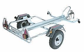 ERDE PM310 MOTOR BIKE TRAILER plus free motor bike straps black friday£20 off