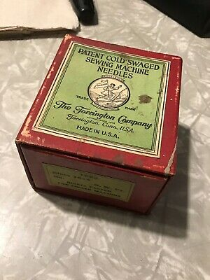NOS Torrington Sewing Machine Needles 16x4 #13 For Singer 1000 Count