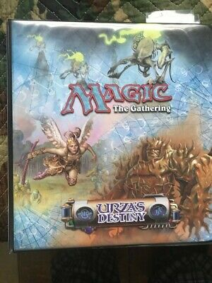 MTG Magic the Gathering Ultra Pro 3-Ring Binder w/ 20+ pages - Urza's Destiny