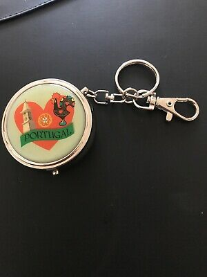 PILL BOX PORTUGAL KEYRING Collectable