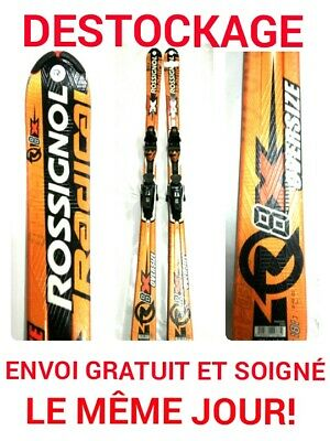 "ski occasion adulte ROSSIGNOL ""8x oversize "" taille:181cm"