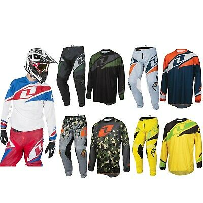 ONE INDUSTRIES ATOM MOTOCROSS KIT PANTS JERSEY mx enduro bike