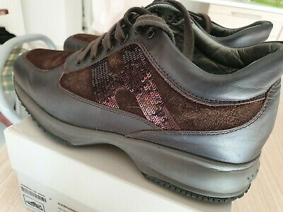 Scarpe Hogan N.38 Originali Interactive Donna Shoes Women Size Nere